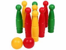 3563044300a43 Bowling Kegelspiel Kinder Kegel Kinderbowling Kegelset Bowlingspiel (80020)