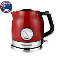 SONIFER 1.8l Electric Stainless Steel Smart Whistle Temp Control Meter Kettle