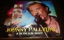 JOHNNY HALLYDAY INTROUVABLE COFFRET LUXE DOUBLE CD A LA VIE A LA MORT NEUF