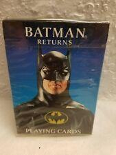 SEALED 1992 BATMAN RETURNS PLAYING CARDS