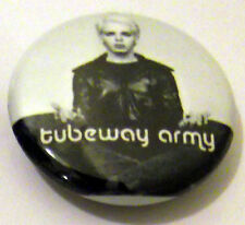 Tubeway Army (Gary Numan) 25mm Pin Badge TA25