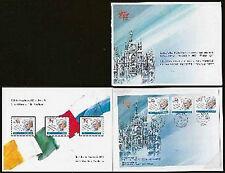 """1998 Folder filatelico """" CITTA' DEL VATICANO - ITALIA - S.MARINO """" 1998"""