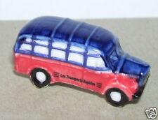 RARE AUTOBUS BUS CAR MERCEDES TRANSPORTS RAPIDES FEVE PORCELAINE 3D