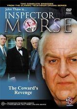 INSPECTOR MORSE - THE COWARD'S REVENGE NEW SEALED DVD - JOHN THAW - TWO EPISODES