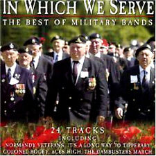 THE BEST OF MILITARY BANDS ~NEW SEALED CD Dambusters,Colonel Bogey and many more
