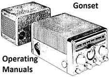 Gonset Operating Manuals * CDROM * PDF