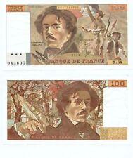 Gertbrolen 100 FRANCS EUGENE  DELACROIX de 1983  X. 64 Billet Numéro 1597083607