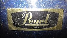 lot of 2 old used smaller drums snare and bigger one bass ? Pearl Japan Blue CB