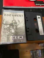 R.E.M. DOCUMENT Michael 1006 Cassette Tape