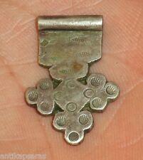 27mm Pendentif Croix Argent Ancien Maroc Collier Antique Silver Pendant Morocco