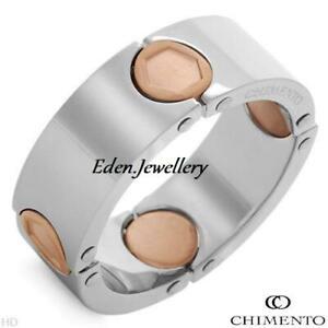 Exclusive CHIMENTO Ring Made in ITALY Model ANELLO/CIONDOLO Deluxe Box LAST 1