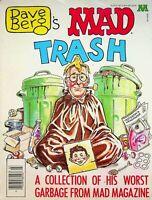 Vtg Dave Berg's Mad Trash Magazine Worst Garbage from Mad Magazine  m1288