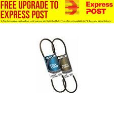 Belt Alt (2 Belts) For Mitsubishi Delica May 1994 - Dec 2006, 2.8L, 4 cyl, 8V, S