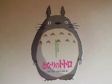 MY NEIGHBOR TOTORO Ghibli  japanese original mini poster chirashi Flyer
