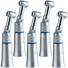 5Pcs  Dental NSK Style Lab  Slow Low Speed Handpiece Push Button Contra Angle