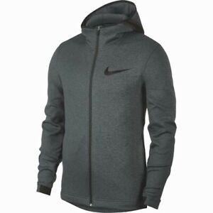 $130 Nike Therma Flex Showtime Basketball Hoodie Jacket Anthracite Men's Medium