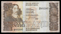World Paper Money - South Africa 20 Rand ND 1985-90 @ F-VF Cond.