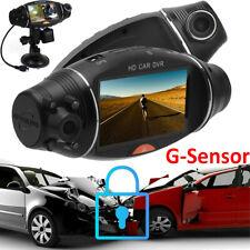 Car GPS DVR Dash Cam Dual Lens Vehicle Rear Video Camera Recorder Night Vision