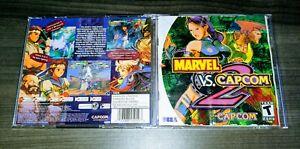 Marvel vs. Capcom 2 {{ Case + Manual Only }} - Sega Dreamcast