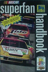 1997 NASCAR SUPERFAN HANDBOOK - FOOD LION SUPERMARKETS (TERRY LABONTE CVR)