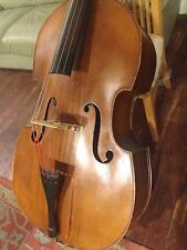 1930s Herald Jaeger 3/4 Carved Upright Bass Czech Czechoslovakian Edgar Meyer
