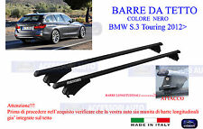 PORTATUTTO PER BW Serie 3 F31 Touring DAL 2012 AL 2015 RAILS INTEGRATI CON PORTASCI 4 PAIA TIGER BARRE ALLUMINIO