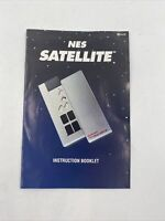 NES Satellite Nintendo NES Instruction Manual Booklet ONLY - Vintage