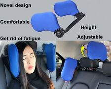 Adjustable Car Seat Headrest Pillow Head Support Resting Nap Sleep Side Cushion