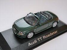 Audi TT Typ 8N (1998) grün vert verde green met., Minichamps 1:43 DEALER boxed!