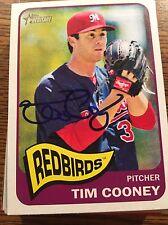 Memphis Redbirds Tim Cooney Autograph Signed Auto Card