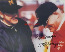 Coach Woody Hayes Ohio State Autographed 8x10 Signed Photo Reprint
