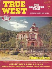 True West Aug.76 Wyoming Walla Walla Buck Gang Georgetown Los Angeles Aquaduct