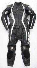 Top ARLEN NESS Lizzard Gr. 48 Zweiteiler Lederkombi schwarz weiß Leather Suit
