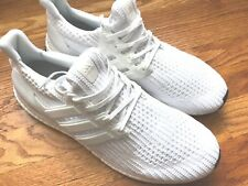91aabed439e BB6168 New Men s ADIDAS UltraBoost 4.0 Running Sneaker Triple White-Size 8.5