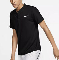 Nike Court Dri Fit (Men's Size L) Athletic Blade Short Sleeve Tennis Polo