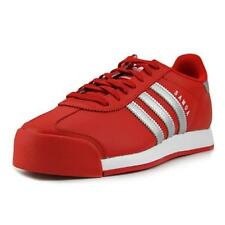 Calzado de hombre adidas color principal rojo de piel