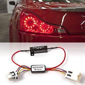 LED Tail as Turn Signal Backup Light Module Kit Fit 08-16 Infiniti G35/G37 Coupe