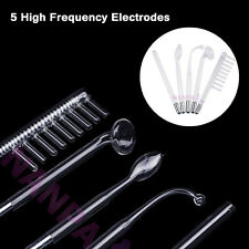 High Frequency 5 Electrodes Tube For High Frequency Machine Anti Aging Anti Acne