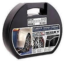 CATENE DA NEVE HUSKY CLASSIC 9MM  145/80-14 HUSAD40