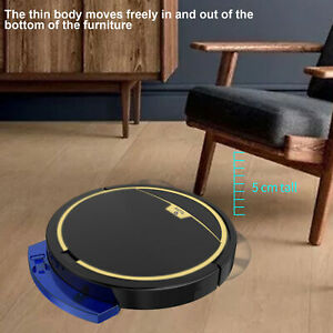 2800Pa Smart Sweeping Robot USB Remote Floor Vacuum Cleaner Suction Sweeper Home