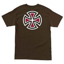 Independent Trucks Bar And Cross Skateboard Shirt Dark Chocolate Xxl
