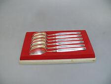 Robbe&Berking Royal Silber Kaffeelöffel Set | 6 Stück | 800er Silber