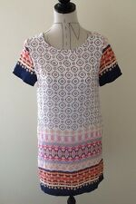 Dress , Shift Style, Size 8, NWtags, Multi Coloured, Designed In Australia