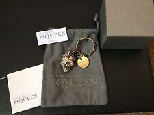 RARE Alexander McQueen in metallo e Teschio di Cristallo PORTACHIAVI £ 350