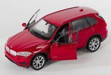 BLITZ VERSAND BMW X5 burgund Welly Modell Auto 1:34-39 NEU & OVP
