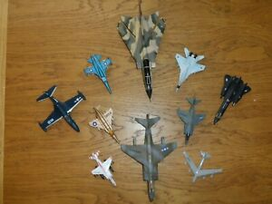 10 X AMERICAN MILITARY JETS