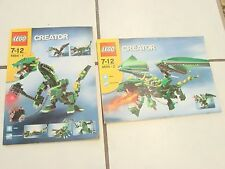LEGO INSTRUCTION BOOK Lego Creator 4894-1 & 4894-2