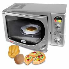 Delonghi Toy Microwave Oven With Lights & Sound Includes Play Food Casdon NEW