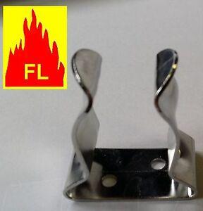 Fixation inox 304 L pour tube  balcon rembarde poli mirroir bateau