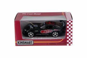 Dodge Viper Race Car #03, Black - Kinsmart 5039FWBK - 1/36 Scale Diecast Toy Car
